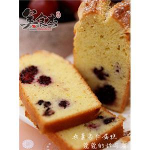 桑葚杏仁蛋糕