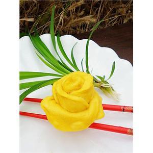 汽球玫瑰花的制作方法-美食大全 做法 糕点主食做法 甜味做法 蒸 脑球美食频道
