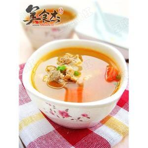 西红柿排骨汤