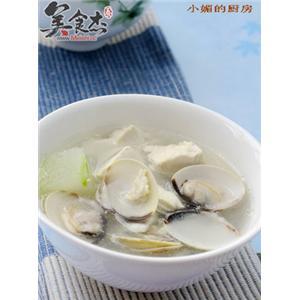 文蛤豆腐汤