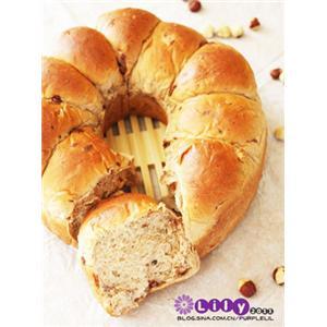 巧克力榛子面包