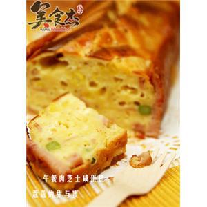 午餐肉芝士咸蛋糕