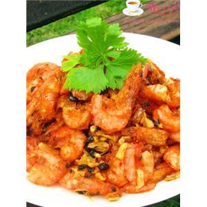 豆豉香酥虾