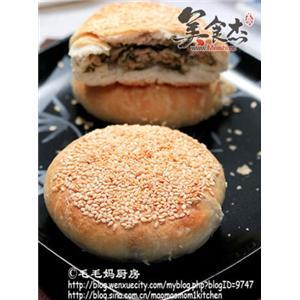 雪菜鲜肉蟹壳黄