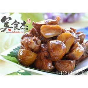 栗子炖猪肉