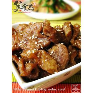 豉油皇焗猪颈肉
