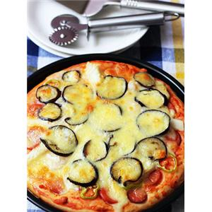 茄子海鲜披萨