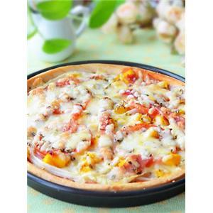 培根蔬果批萨