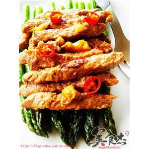 泰式牛肉芦笋