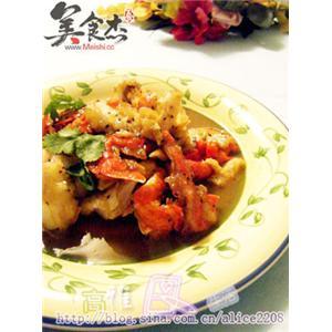 黑椒牛油炒蟹