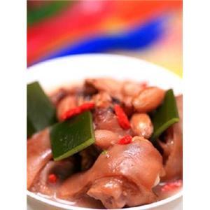 海带煲猪蹄
