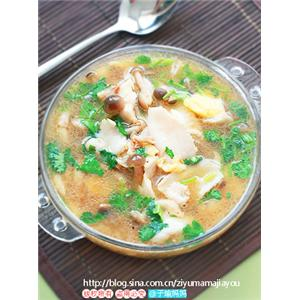 鱼片大酱汤