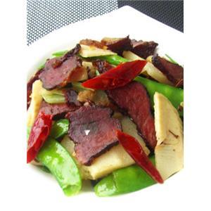 腊肉荷兰豆
