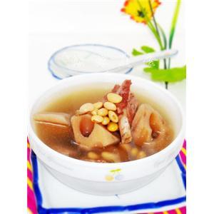 莲藕黄豆肉骨汤