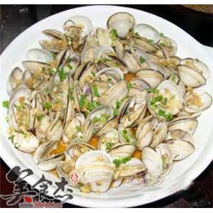 葱香炒蛤蜊