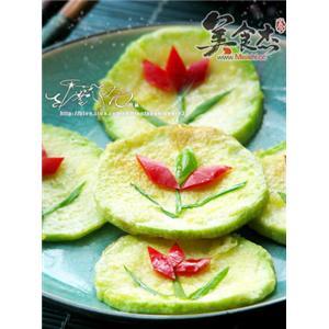 韩式笋瓜煎饼