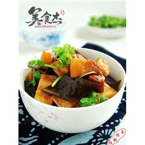 土豆海带烧肉
