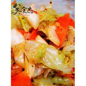 麻辣圆白菜