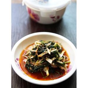 凉拌海青菜