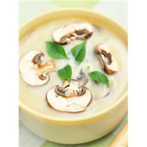 培根奶油蘑菇汤