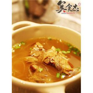 咖喱牛肉线粉汤