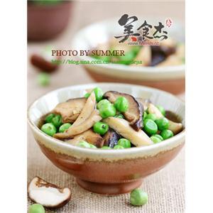 杂菇炒豌豆