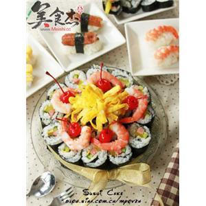 寿司生日蛋糕