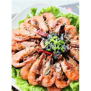香辣海苔北极虾