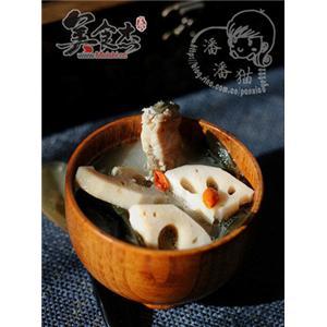 莲藕海带鱼汤
