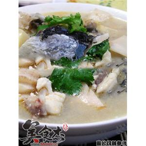 鱼头酸笋汤