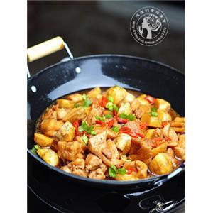 干锅茨菇鸡