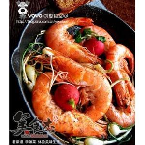 野蒜干锅虾