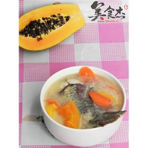 木瓜鱼尾胡萝卜汤