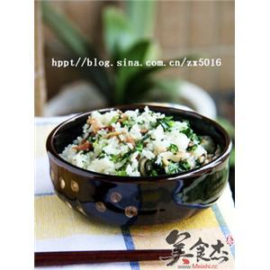 香菇青菜腊味饭