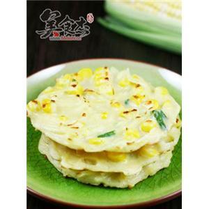 玉米土豆小煎饼