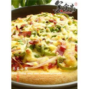 乳酪培根披萨
