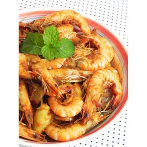 泰式红咖喱香茅虾