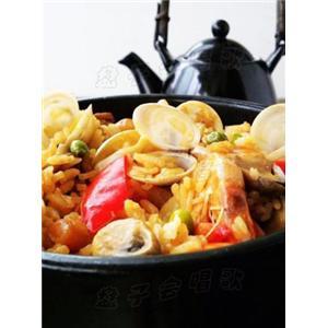 石锅海鲜饭