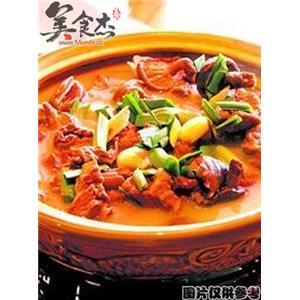 砂锅炖驴肉