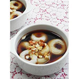红糖姜汁汤圆