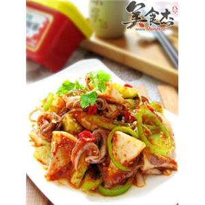 韩式凉拌墨斗鱼
