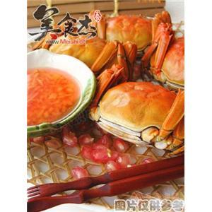 清蒸(煮)大闸蟹