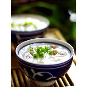 姜丝鸭肉粥