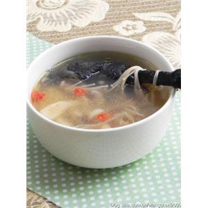 杂菌乌鸡腿汤