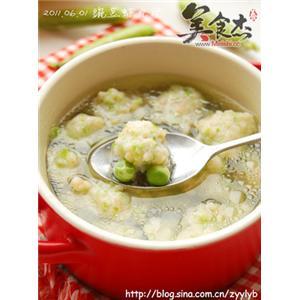 豌豆虾丸汤