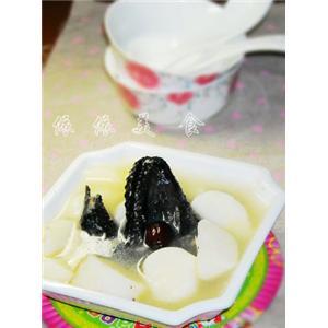 淮山红枣竹丝鸡汤