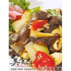 香菇瘦肉锅