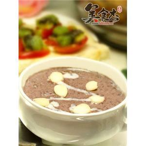 紫米核桃奶露