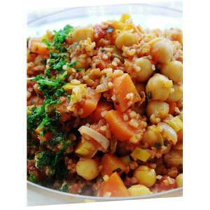 鹰嘴豆番茄沙拉