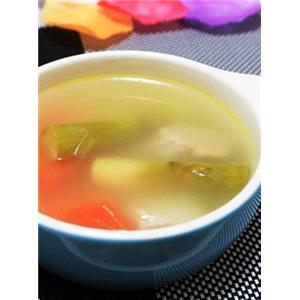 芦笋根瘦肉汤